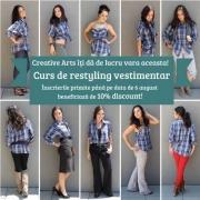 Curs de restyling vestimentar